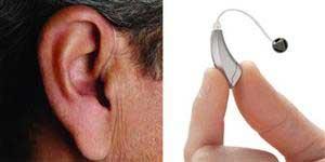 aparelho auditivo receptor no canal ric